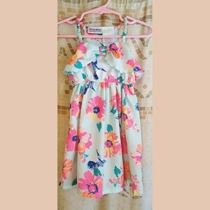 Beautiful Floral Halter Dress